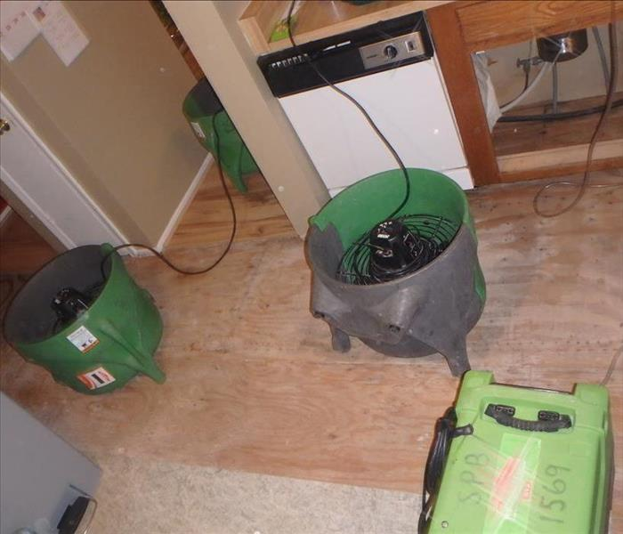 Moisture and Mold Found in Home Kitchen Before